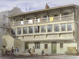 The White Bear Inn on Piccadilly, Westminster, London, 1856 by Thomas Hosmer Shepherd