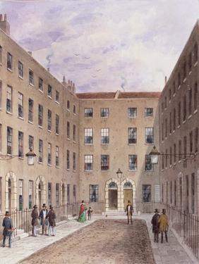 Travies' Inn, Holborn, 1858 by Thomas Hosmer Shepherd