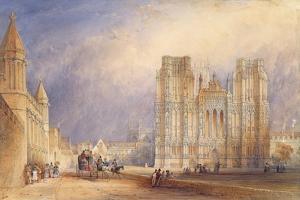 Wells Cathedral by Thomas Hosmer Shepherd