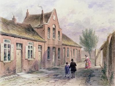 Witcher's Alms Houses Tothill Fields, 1850 by Thomas Hosmer Shepherd