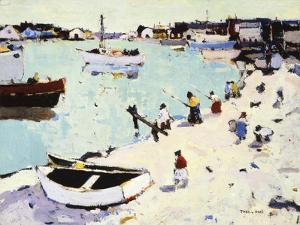Newport Harbor by Thomas Hunt