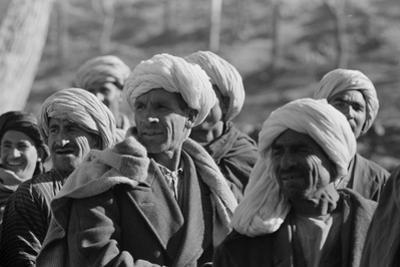 Afghanis during President Eisenhower's visit to Kabul, 1959