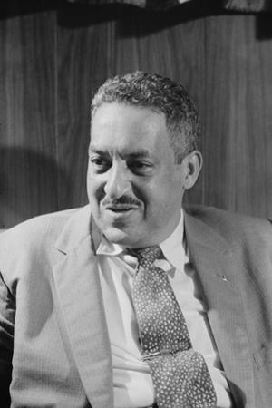Thurgood Marshall, attorney for the NAACP, 1957