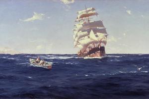 Off Valparaiso by Thomas J. Somerscales