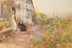 Grandmother, 1894 by Thomas James Lloyd