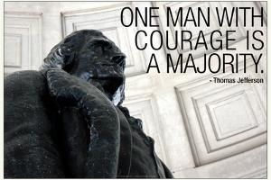 Thomas Jefferson Courage Quote