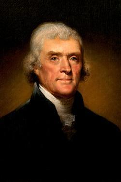 Thomas Jefferson Portrait Historic