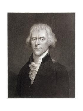 Thomas Jefferson by W Holl