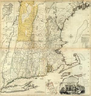 Composite: New England, c.1776 by Thomas Jefferys