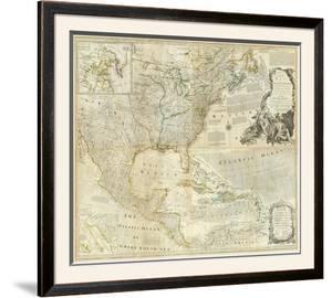 Composite: North America, c.1776 by Thomas Jefferys