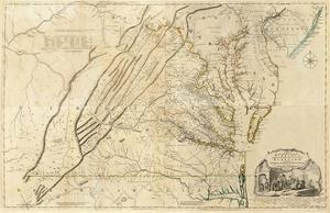 Composite: Virginia, c.1776 by Thomas Jefferys