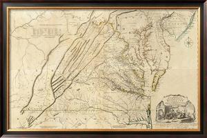 Composite: Virginia, c.1776 by Thomas Jefferys