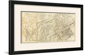 Map of Pennsylvania, c.1776 by Thomas Jefferys