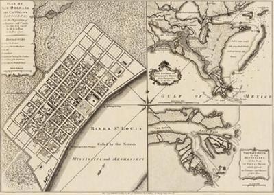 New Orleans, Louisiana, c.1759