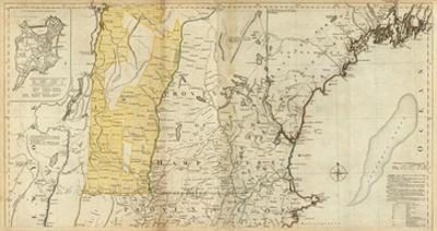 The Provinces of Massachusetts Bay and New Hampshire, Northern, c.1776