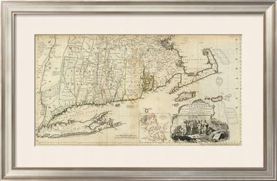 The Provinces of Massachusetts Bay and New Hampshire, Southern, c.1776