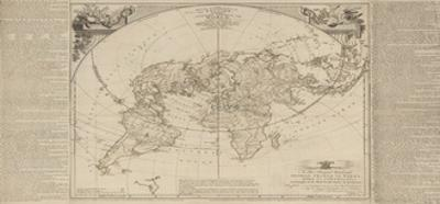 The Royal Geographical Pastime: Exhibiting a Complete Tour Round the World, London, 1770