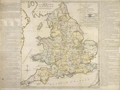 The Royal Geographical Pastime, Exhibiting a Complete Tour Thro' England and Wales, London, 1770