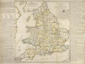 The Royal Geographical Pastime, Exhibiting a Complete Tour Thro' England and Wales, London, 1770 by Thomas Jefferys