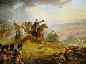 An Incident at the Battle of Waterloo in 1815 by Thomas Jones Barker