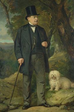 John Newton Mappin (1800-84), 1877 by Thomas Jones Barker
