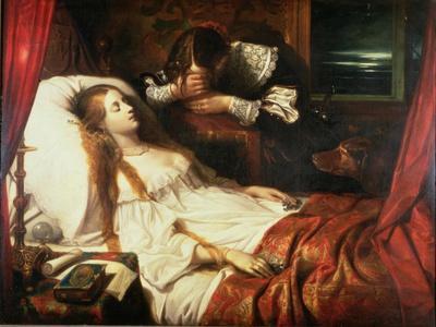 The Bride in Death, 1839
