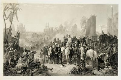 The Relief of Lucknow, and the Triumphant Meeting of Havelock, Outram and Sir Colin Campbell, 1862