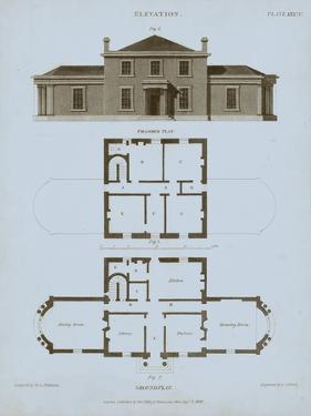 Chambray House & Plan I by Thomas Kelly