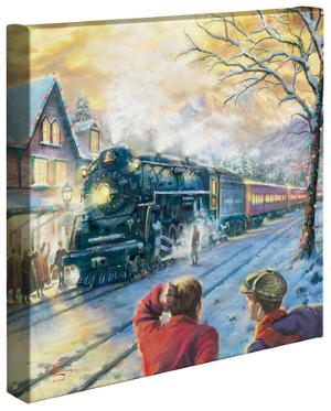 All Aboard for Christmas by Thomas Kinkade