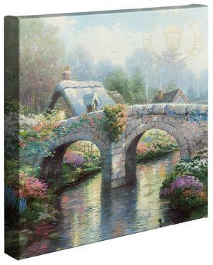 Blossom Bridge by Thomas Kinkade