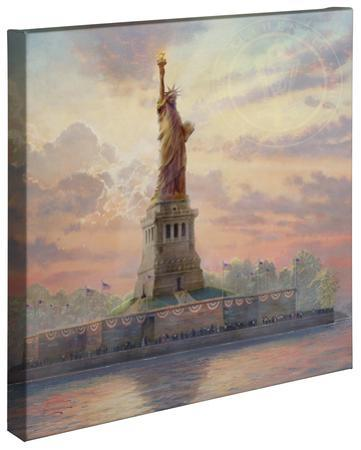 Dedicated to Liberty by Thomas Kinkade