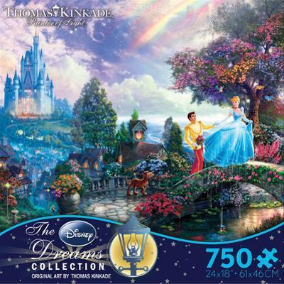 Thomas Kinkade Disney Dreams - Cinderella 750 Piece Jigsaw Puzzle