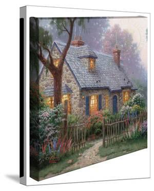 Foxglove Cottage by Thomas Kinkade