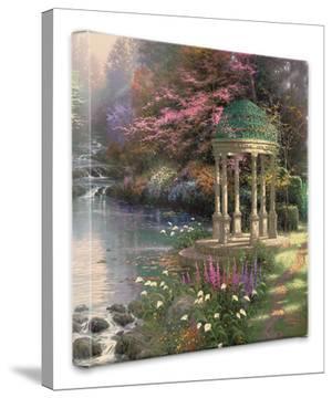 Garden of Prayer by Thomas Kinkade