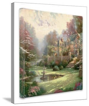 Gardens Beyond Spring Gate by Thomas Kinkade