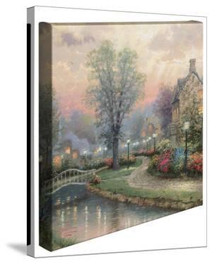 Lamplight Lane by Thomas Kinkade