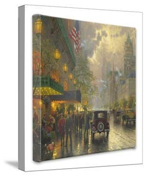 New York 5th Avenue by Thomas Kinkade