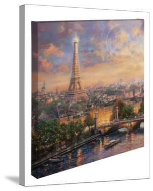 Paris, City of Love by Thomas Kinkade