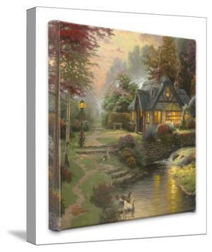 Stillwater Cottage by Thomas Kinkade