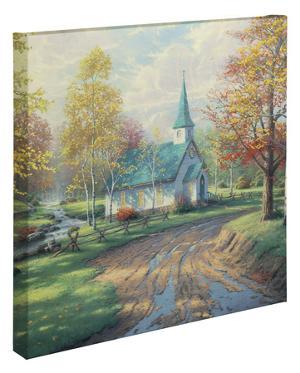 The Aspen Chapel by Thomas Kinkade