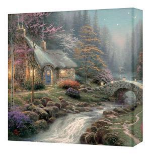 Twilight Cottage by Thomas Kinkade