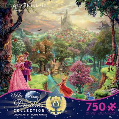Thomas Kinkaid Disney Dreams - Sleeping Beauty 750 Piece Jigsaw Puzzle