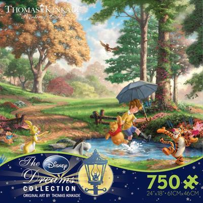 Thomas Kinkaid Disney Dreams - Winnie the Pooh 750 Piece Jigsaw Puzzle