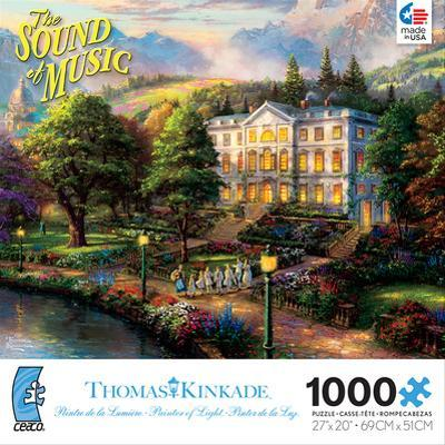 Thomas Kinkaid Movie Classics - Sound of Music 1000 Piece Jigsaw Puzzle