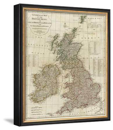 A Complete Map of the British Isles, c.1788 by Thomas Kitchin