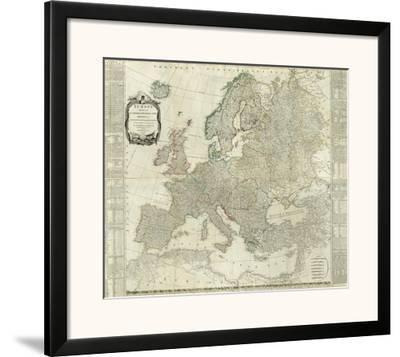 Composite: Europe, c.1787 by Thomas Kitchin