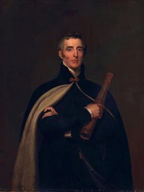 Arthur Wellesley, Duke of Wellington, with a Telescope by Thomas Lawrence