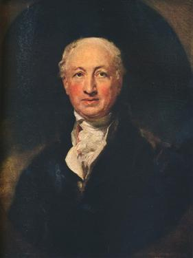 George Dance the Younger, (1741-1825), English Architect, Surveyor and a Portraitist, 1798 by Thomas Lawrence