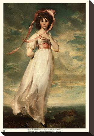 Pinkie - Gold Trim by Thomas Lawrence