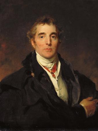 Portrait of Arthur Wellesley, 1st Duke of Wellington, C.1821
